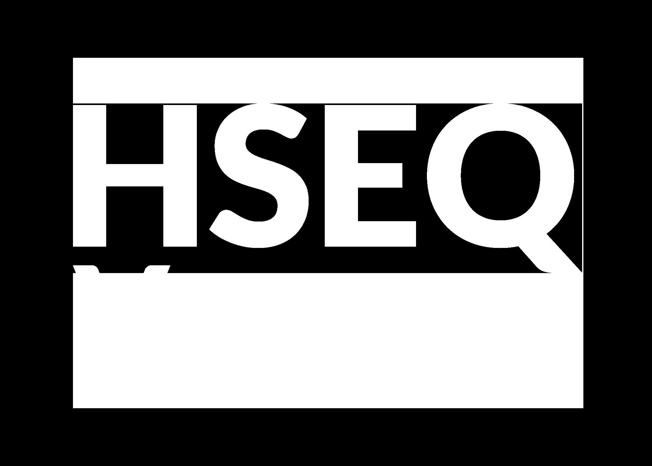 HSEQ Logo White Reverse